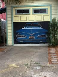 garage door artNew Orleans thats a painted garage door Dont know whats