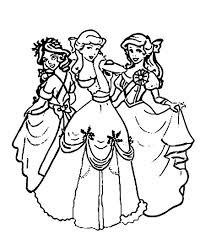 Fiecare fată va putea selecta cu ușurință un desen de colorat. Imagini De Colorat Cu Printesele Disney Coloring Free To Print
