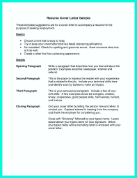 Resume Cover Letter Samples Musiccityspiritsandcocktail Com