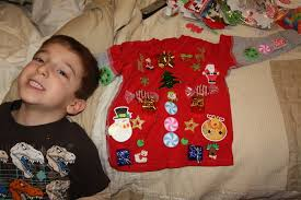 ugly sweaters for kids how to make a ugly sweater with the kids