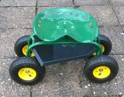rolling wheeled garden cart work seat collection only coventry west midlands