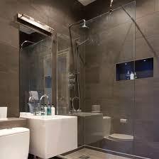 bathroom lighting design ideas. Modren Ideas Shower Room With Downlights And Hidden Lighting  Brilliant Bathroom  Bathroom Decorating Ideas Inside Lighting Design Ideas G