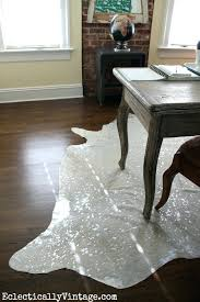 white cowhide rug office makeover love the devour cowhide rug white cowhide rug canada