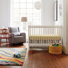 view in gallery colorful banded floor rug
