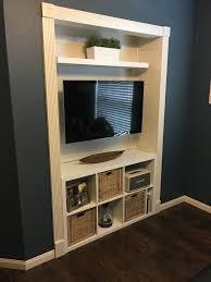 Media Closet Design Converted Closet In Bedroom To Media Center Handmade