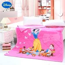 princess canopy twin bed set sheets tiana snow white and the 7 dwarfs quilts comforters single