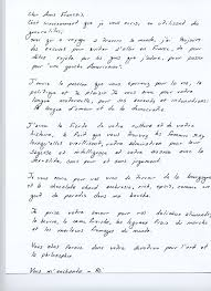 French Love Letter Sample - Best Letter Sample