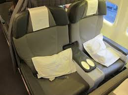 Icelandair Business Class Saga Class Review One Mile At