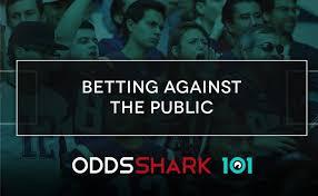 Betting Against The Public Odds Shark