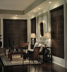 dark wood blinds. Interesting Blinds Premium Wood Blinds Made From Durable North American Hardwood Are  Completely Customizable To Fit Your Needs From Colonial White Dark Walnut  And Wood Blinds D