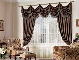 Curtain Styles For Living Rooms Classic Zen Theme Curtain Styles