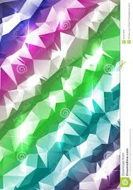 Pastel Stripes Polygonal Abstract Stock Vector Illustration Of