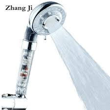 3 modes 4 gears shower head 2 colors abs high pressure filter detachable home depot handheld shower head