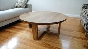 living room round oak coffee table design bamboo simple unique hardwood high quality rustic side tables
