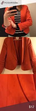 Light Orange Blazer Light Silky Orange Blazer Great Blazer Super Comfy Minor