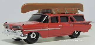 Two Lane Desktop: Matchbox 1959 Chevrolet Brookwood Wagon