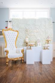 white and gold baby shower on kara s party ideas karaspartyideas com 3
