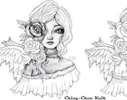 Art Of Ching Chou Kuik Original Art And Digital Stamp Door Gjzcck