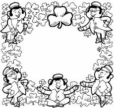 Small Picture Shamrock Shamrock Coloring Pages Coloring Page Free Archives Best