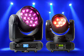 Inno Light American Dj Offers Motorized Zoom With New Inno Color Beams