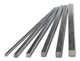 Key Stock Size Chart Keystock Zinc Plated Rainbow Precision Products