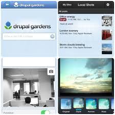 Free Drupal Gardens IPhone App Adds New Content Editing Features  Acquia