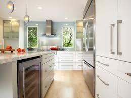 Shiny White Kitchen Cabinets Cabinets Drawer Contemporary Glossy White Kitchen Design Chrome