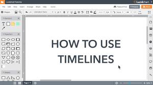 Lucidchart Tutorials Timelines