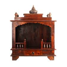 wooden temple crafted in Indian Rosewood sheesham Furniture online