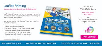 Pamphlet Designs For Stationery Shop Self Service Copy Print Shop Glasgow Same Day Printing