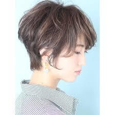 30代40代大人の春夏ショート Beautrium Ginzaビュートリアムのヘア