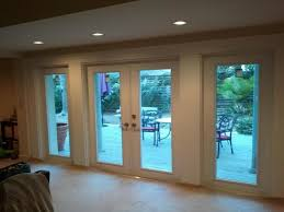 slider replacements double patio doors with blinds above