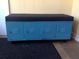 Valspar Turquoise Spray Paint Locker Bench Spray Painted Gray Lockers With Valspar Gloss