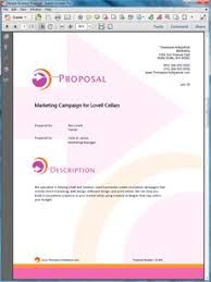 15 Best Sample Marketing Proposals Images Business Proposal