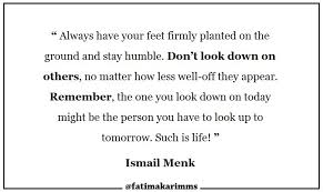 You Matter Quotes Mesmerizing Quotes Don't Look Down On Others Fatima Karim Medium