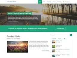 Small Picture 10 Best Free WordPress Themes Built On Bootstrap 2017