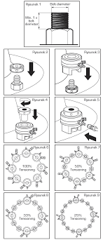 bolting procedure for bolts