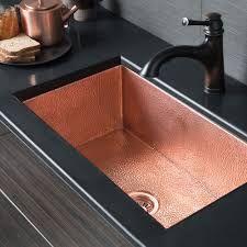 Native Trails Cocina Hammered Polished Copper 30 Inch Undermount