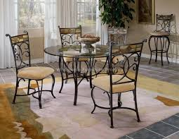 glass breakfast table and chairs circle glass dining table set lovely dinette table and chairs with