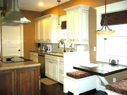 Painting Knotty Pine Cabinets Before And After Kitchen Cabinet White