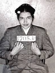 rosa parks academy of achievement rosa parks booking photo following her 1956 arrest during the montgomery bus boycott