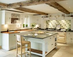 Fine Traditional Kitchen Ideas I Like The Beams Cheshire Manor House Handmade To Modern Design