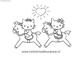 Kleurplaat Hello Kitty Dolfijn Kleurplaten Tekeningen