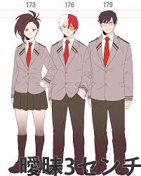 Height Chart My Hero Academia Boku No Hero Academia My Hero Academia Wallpaper 2406579