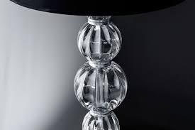 floor lamps amanda 118 fl silver leaf crystal floor lamp pvc black chrome shade