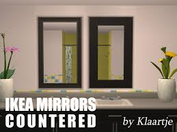 Ikea Mongstad Mirror Mod The Sims Ikea Mirrors Countered