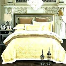 white satin stripe sheets bed spreads duvet cover twin light luxury bedding sets jacquard bedspreads gold