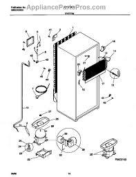 frigidaire 218721108 starter ptc appliancepartspros com part diagram