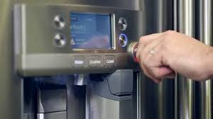 refrigerator with keurig coffee maker. GE Caf Series Refrigerator With Keurig KCup Brewing System YouTube To Coffee Maker