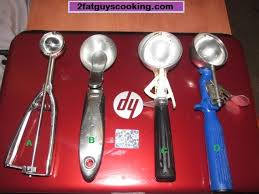 Dishers And Ice Cream Scoops Sizes Portion Control